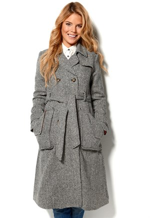 Pam Coat fra Rules by Mary