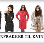 Flotte regnfrakker til kvinder med stil