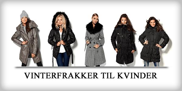Vinterfrakker til kvinder