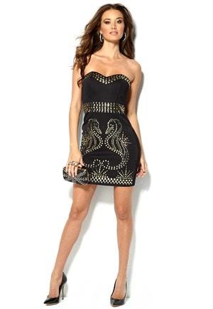 Kort kjole til fest fra Chi-Chi