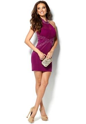 Halterneck kjole fra Chi-Chi