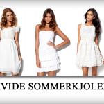 Hvide sommerkjoler til din garderobe