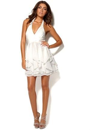 Cocktail halterneck kjole fra Bubbleroom