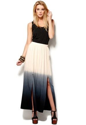 Sort fushia kjole fra Chi-Chi