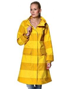danefæ hoejvande regnjakke i gul