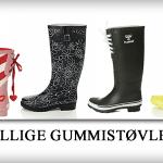Billige gummistøvler til kvinder
