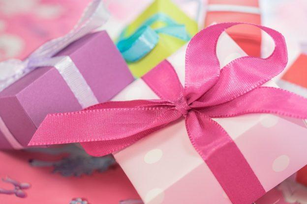 Lyserøde gaver