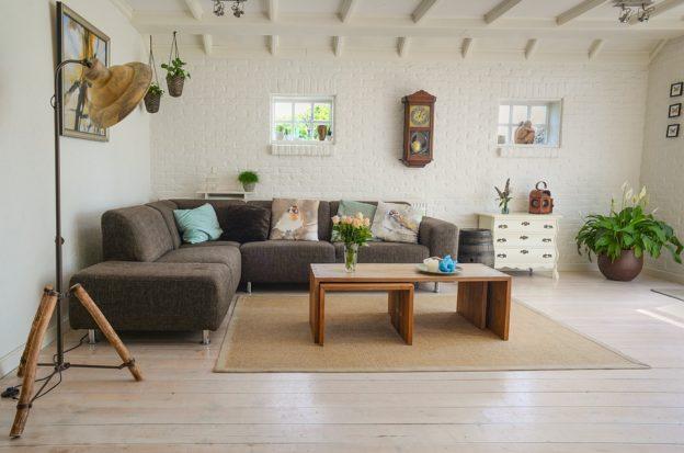 Nyt gulv i stuen