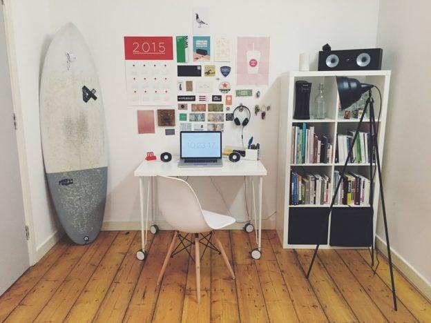 Lille værelse med smart indretning