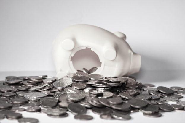 Sparegris med penge