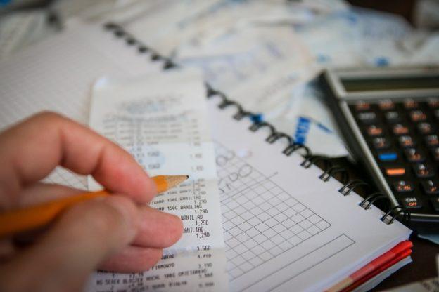 Kvitteringer og lommeregner